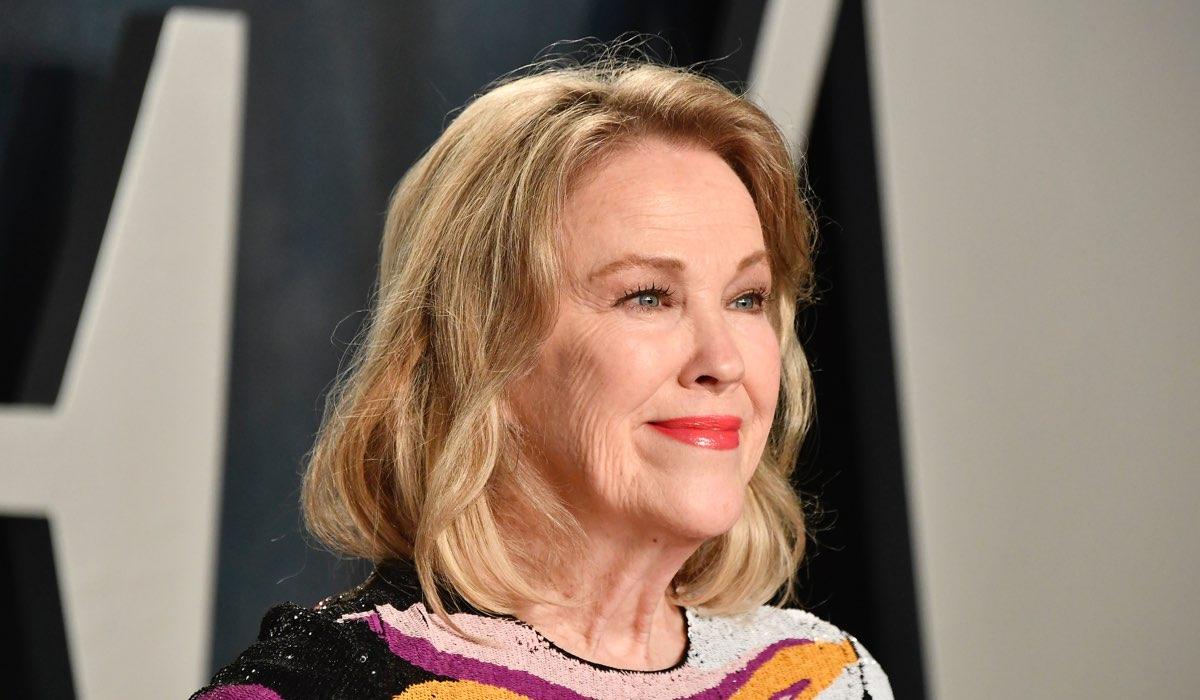 Catherine O'Hara vince gli Emmy 2020 come Miglior attrice in una serie comica, qui al party di Vanity Fair a febbraio 2020 Credits Frazer Harrison e Getty Images