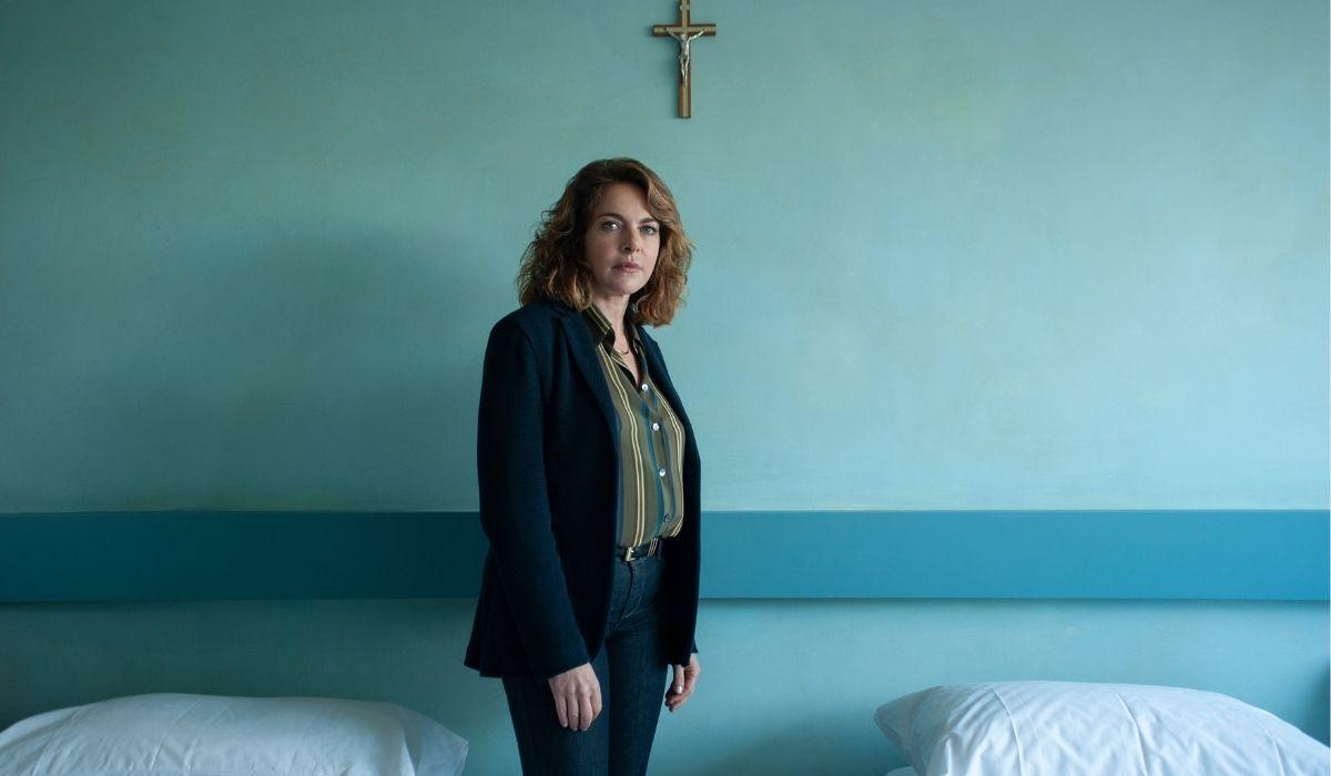 Claudia Gerini in Suburra 2 stagione, Credits Emanuela Scarpa e Netflix