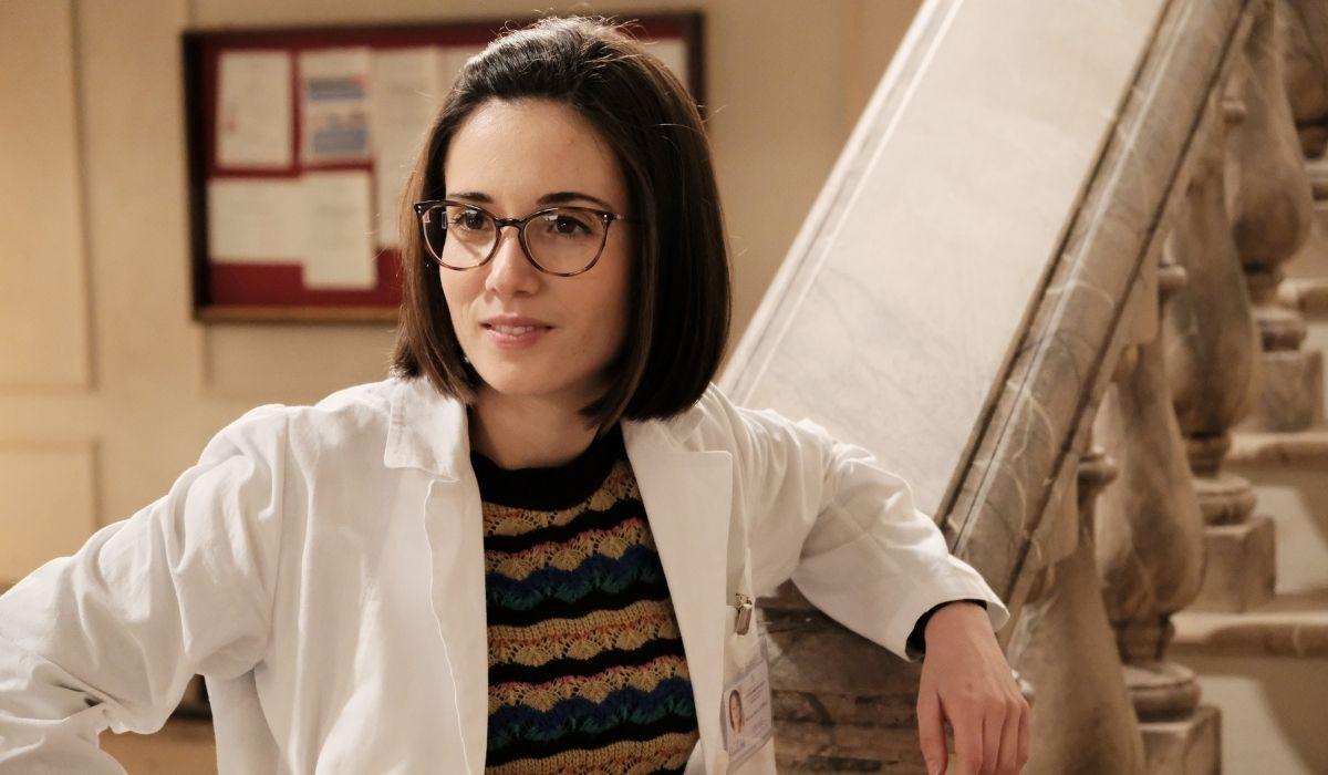 Claudia Gusumano è Erika ne L'allieva 3 stagione Credits P. Bruni e RAI