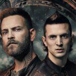 Da sinistra: Alessandro Borghi (Aureliano) e Giacomo Ferrara (Spadino) nel poster di Suburra 3. Credits: Netflix.