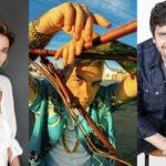 Da sinistra: Anna Foglietta (Ph Dirk Vogel), Salmo (Ph Graziano Moro) e Fabio De Luigi. Credits: Sky