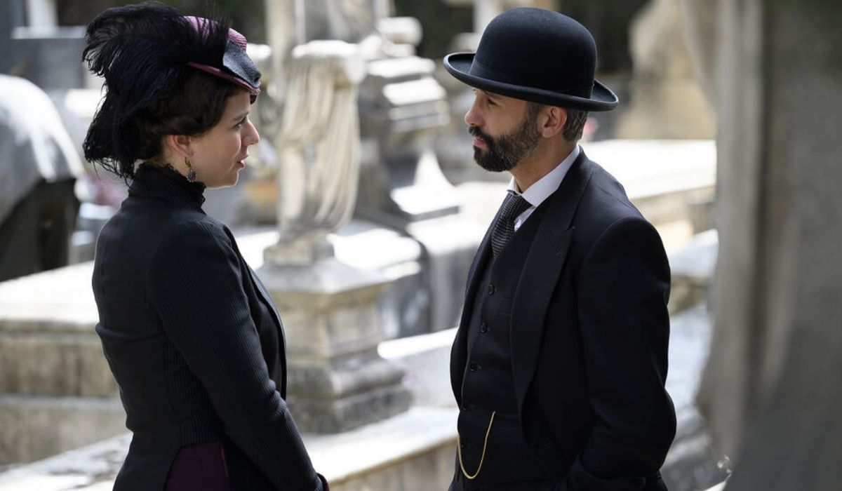 Genoveva incontra Felipe in Una Vita Credits TV e Mediaset