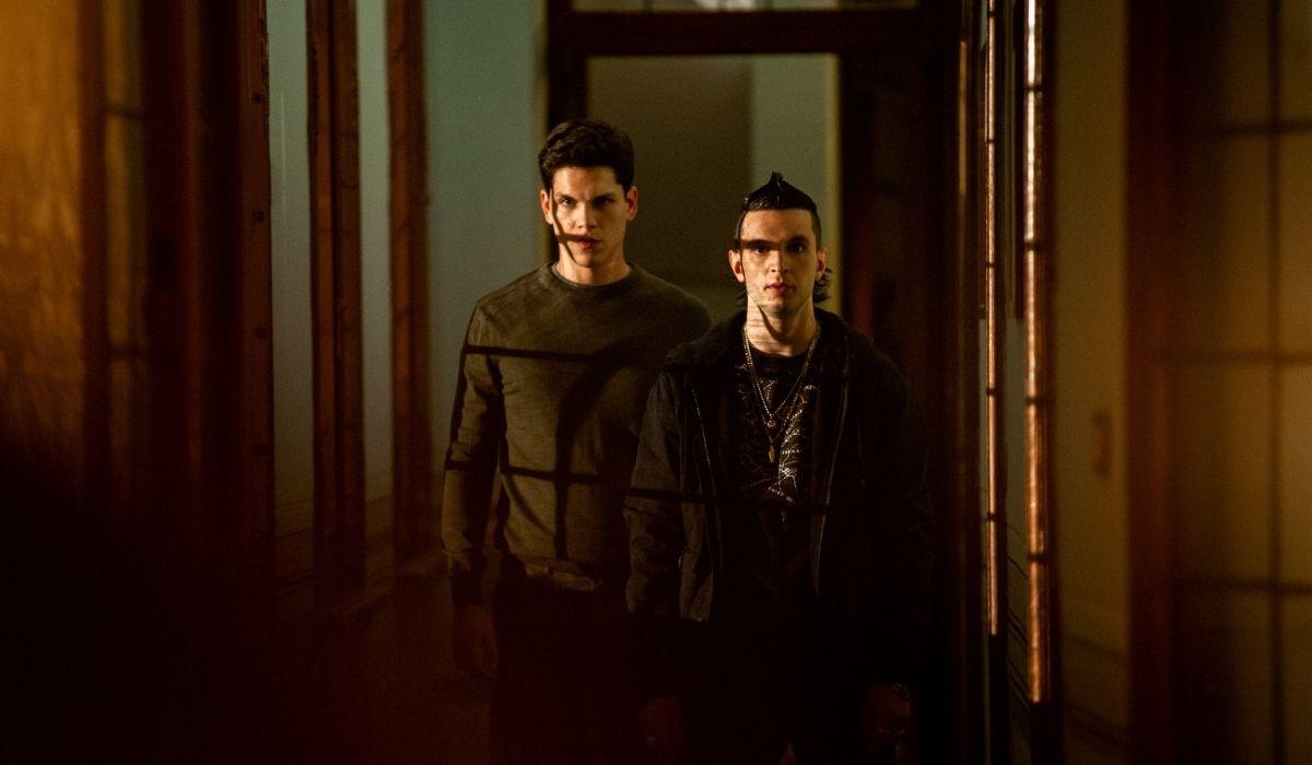 Giacomo Ferrara ed Eduardo Valdarini in Suburra 2 stagione, Credits Emanuela Scarpa e Netflix