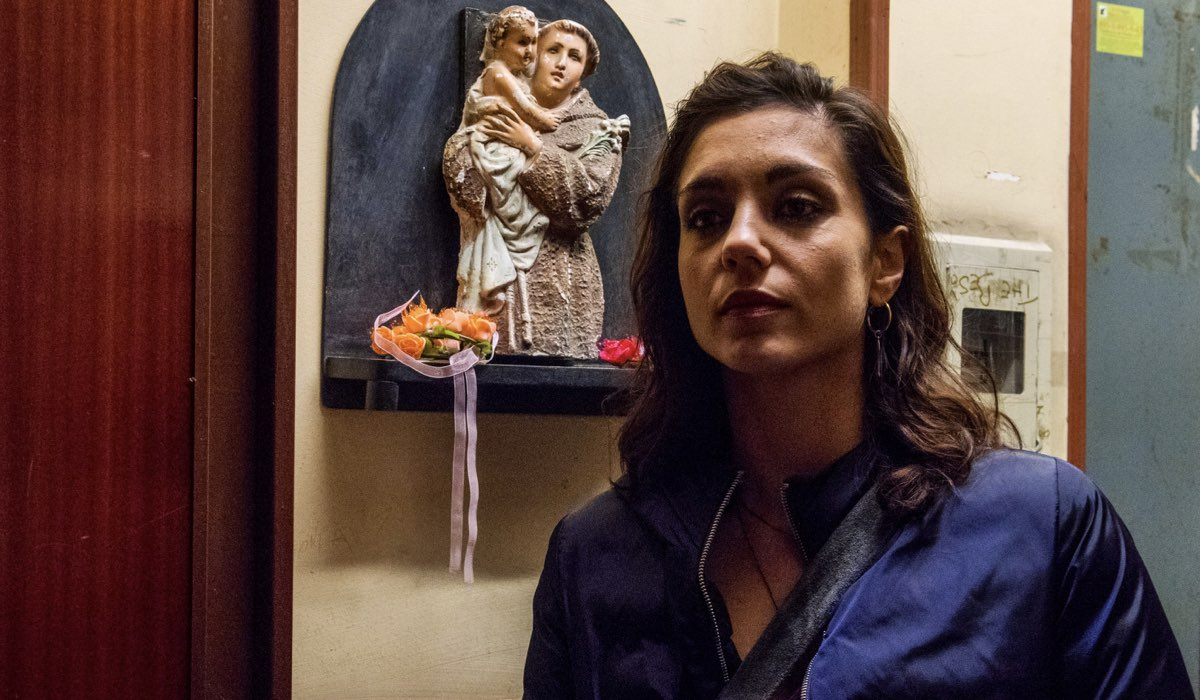 Gomorra 3 Patrizia interpretata da Cristiana Dell'Anna in una scena della stagione Credits SKY