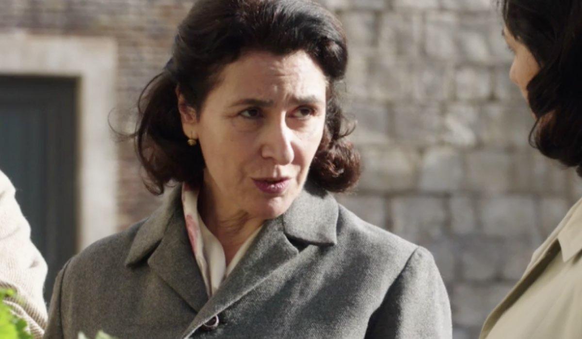 Il Paradiso delle Signore 4 Agnese Amato interpretata da Antonella Attili, qui nella puntata 136 Credits RAI