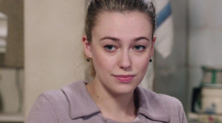 Il Paradiso delle Signore 4 Angela Barbieri interpretata da Alessia Debandi, qui nella puntata 139 Credits RAI