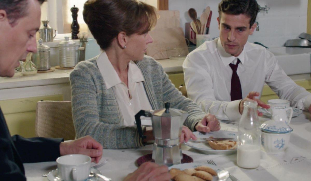 Il Paradiso delle Signore 4 Luciano, Silvia e Federico nella puntata 141 Credits RAI