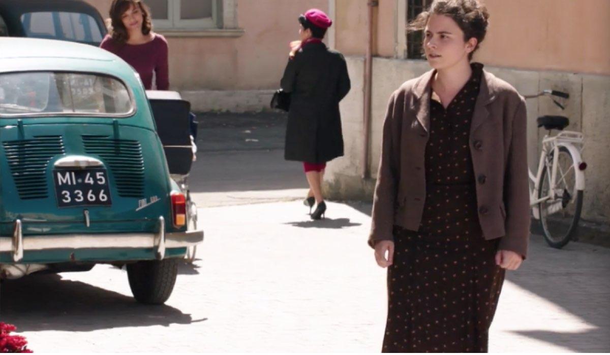 Il Paradiso delle Signore 4 Marta con la carrozzina e Daniela, la mamma di Anna nella puntata 151 Credits RAI