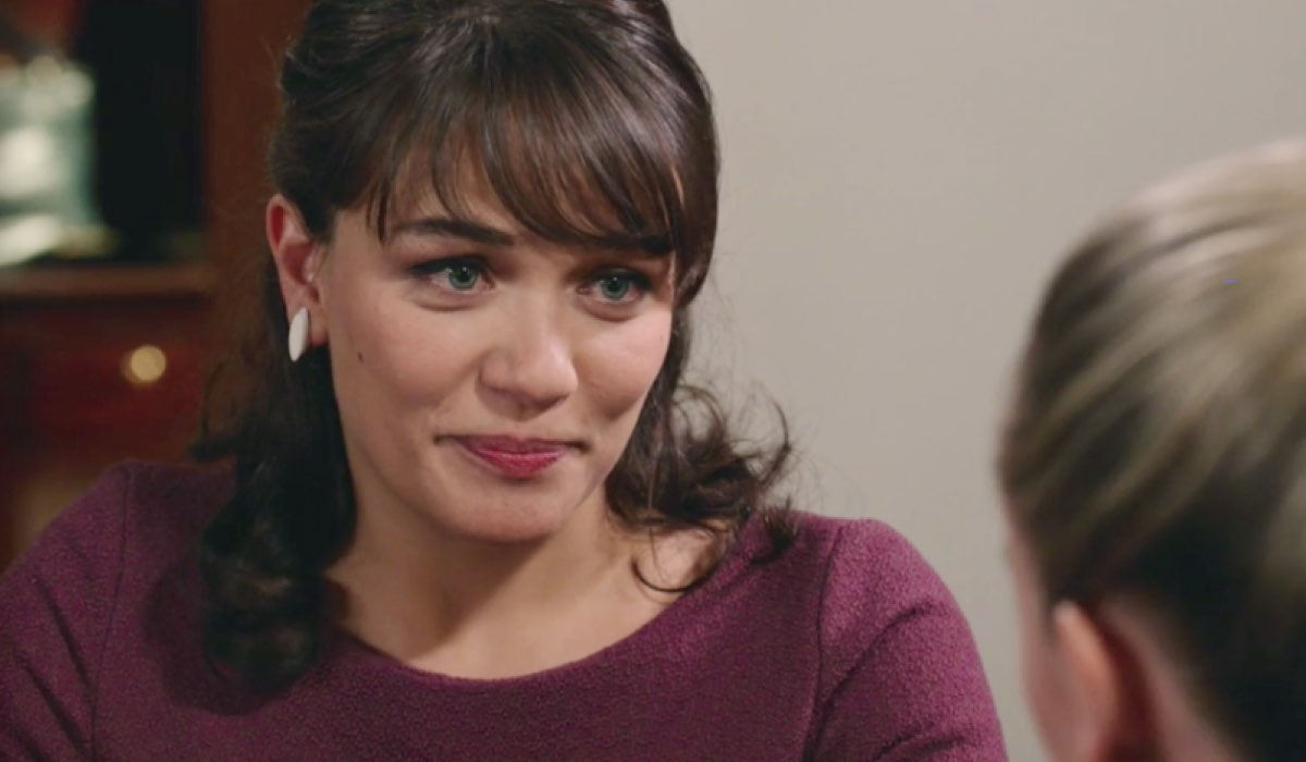 Il Paradiso delle Signore 4 Marta interpretata da Gloria Radulescu, qui nella puntata 143 Credits RAI