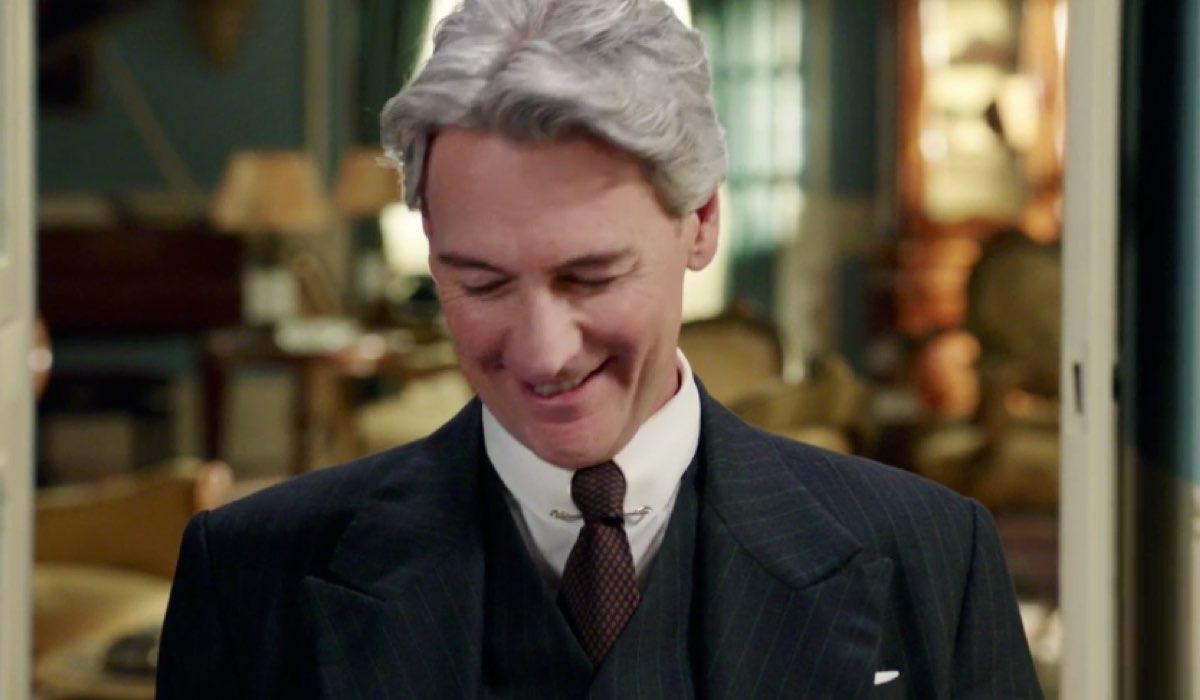 Il Paradiso delle Signore 4 Umberto Guarnieri interpretato da Roberto Farnesi, qui nella puntata 136 Credits RAI