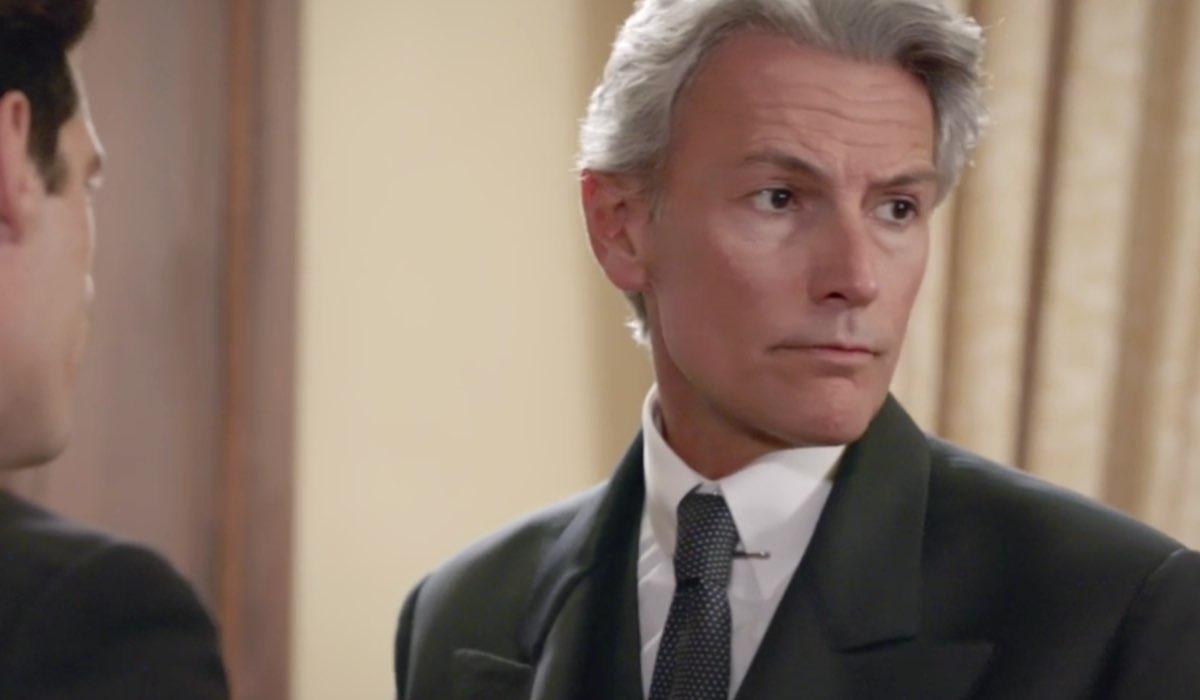 Il Paradiso delle Signore 4 Umberto Guarnieri interpretato da Roberto Farnesi, qui nella puntata 143 Credits RAI