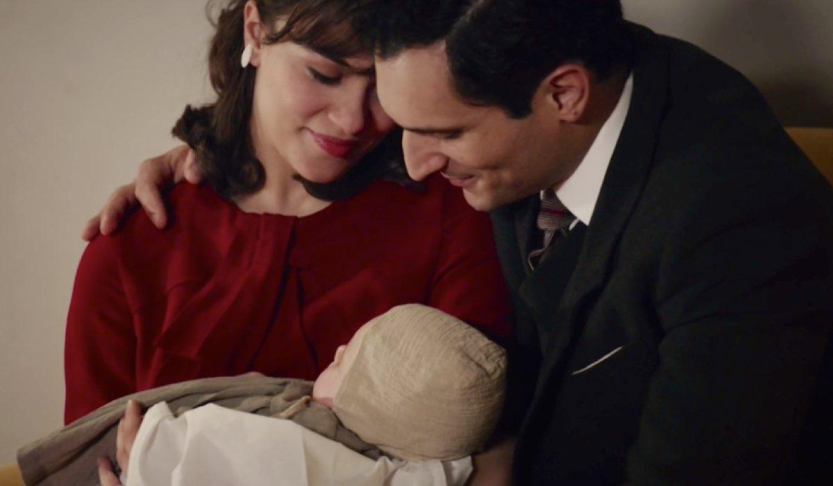 Il Paradiso delle Signore 4 Vittorio e Marta riescono a adottare Anna, qui nella puntata 140 Credits RAI