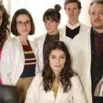 Il cast de L'allieva 3 stagione Credits P. Bruni e RAI