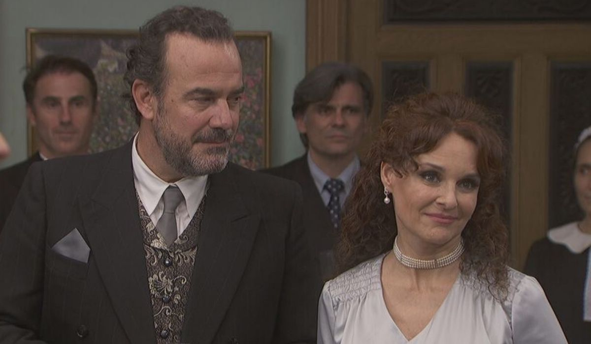 Isabel e don Ignacio ne Il Segreto Credits Mediaset