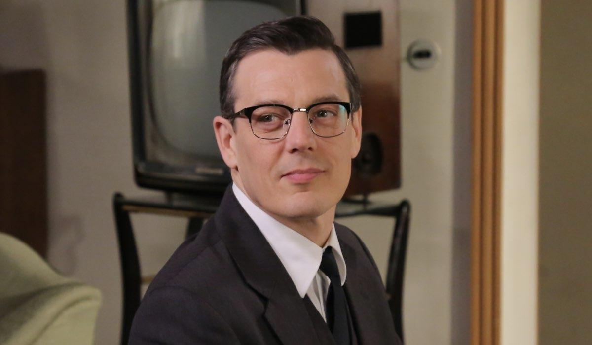 Luciano Cattaneo interpretato da Giorgio Lupano, qui in una scena de Il Paradiso delle Signore 4 - Daily 2 Credits P. Bruni e RAI