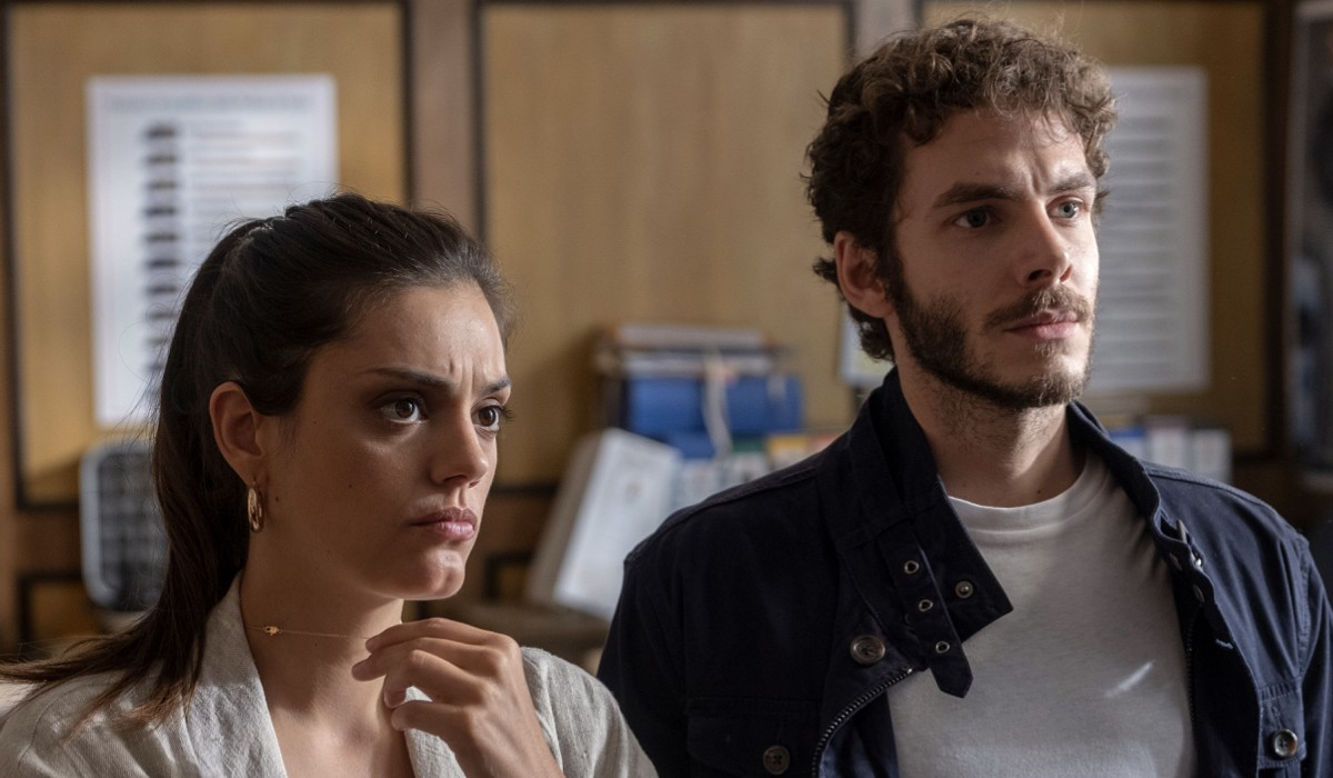 Nero a metà 2 Cinzia Repola e Marco Cantabella in una scena Credits Claudio Iannone e RAI