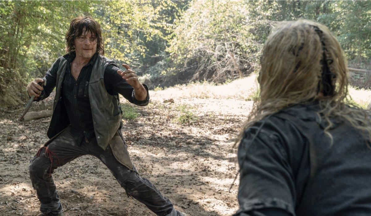 Norman Reedus nei panni di Daryl in The Walking Dead. Credits: Fox Italia e AMC