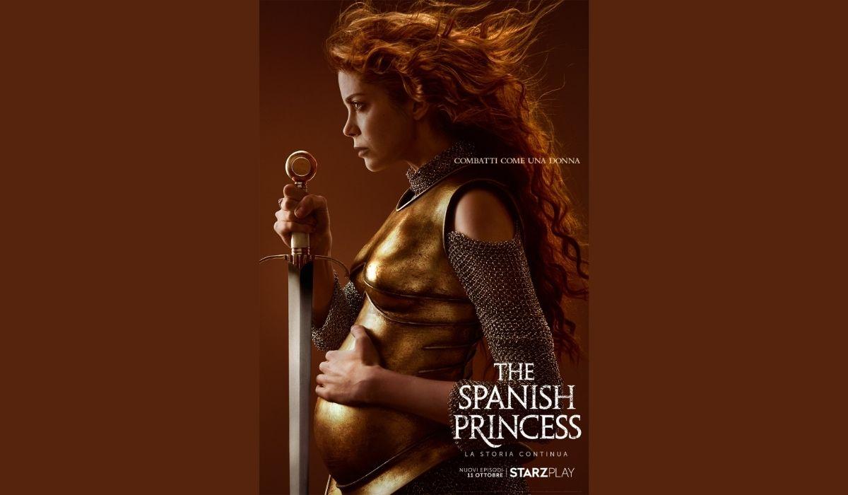 Poster ufficiale di The Spanish Princess 2, Credits Starzplay