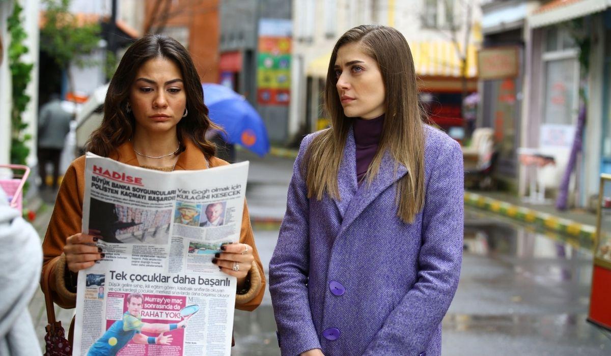 Sanem e Leyla in Daydreamer soap opera Credits GLOBAL TELIF HAKLARI YAPIMCILIK TIC. A.S.