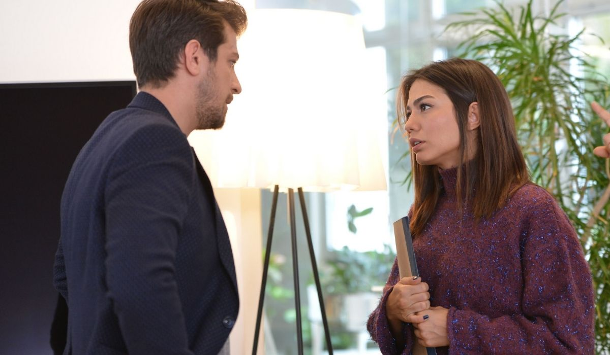 Sanem ed Emre in Daydreamer soap opera Credits GLOBAL TELIF HAKLARI YAPIMCILIK TIC. A.S.