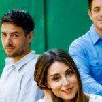 Serena, Filippo e Leonardo in Un posto al sole Credits RAI
