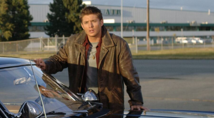 Supernatural Jensen Ackles Dean Winchester Credits WarnerBros Entertainment Spike Italia