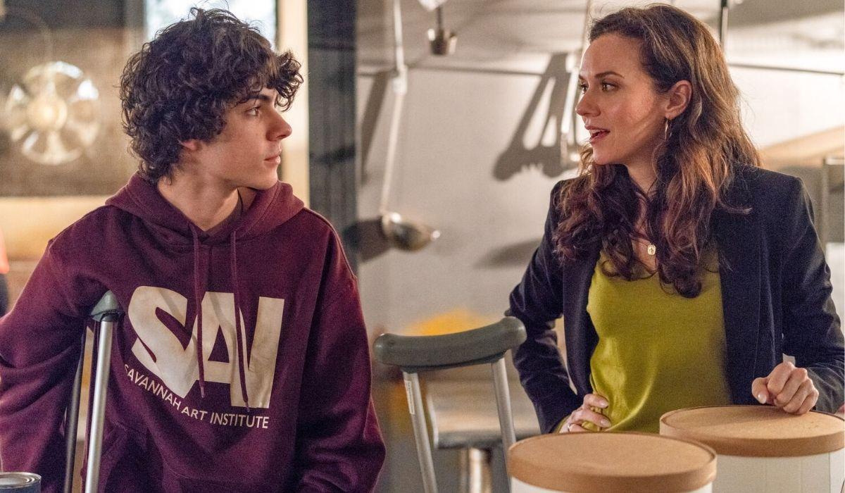 Theo e Margot in Council of Dads prima stagione Credits NBC e Mediaset