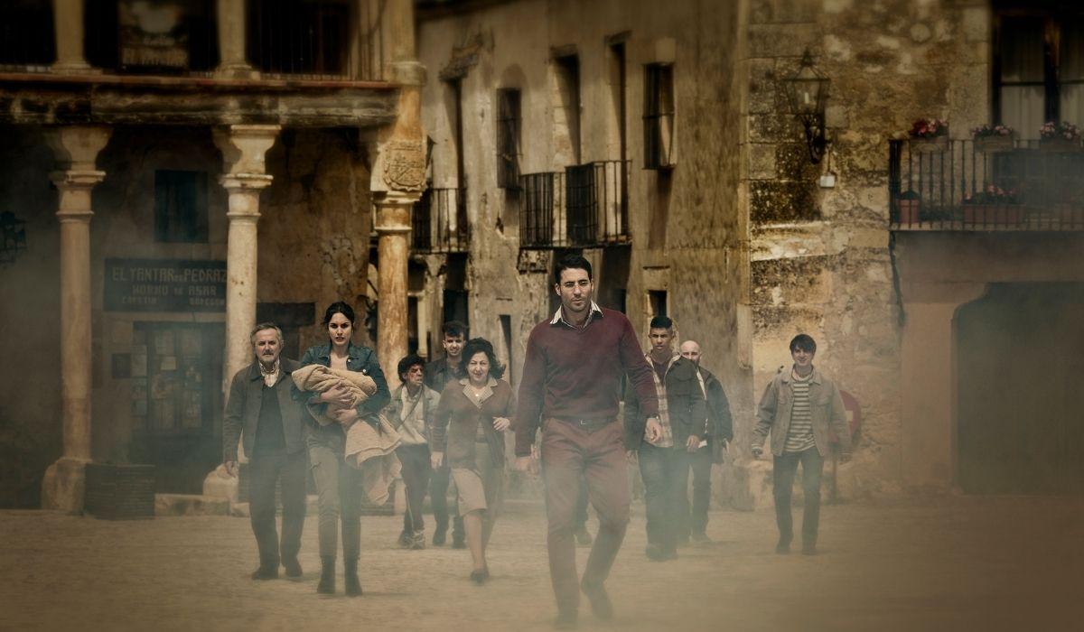 Una scena di 30 Coins serie HBO Europe, Credits Manolo Pavon