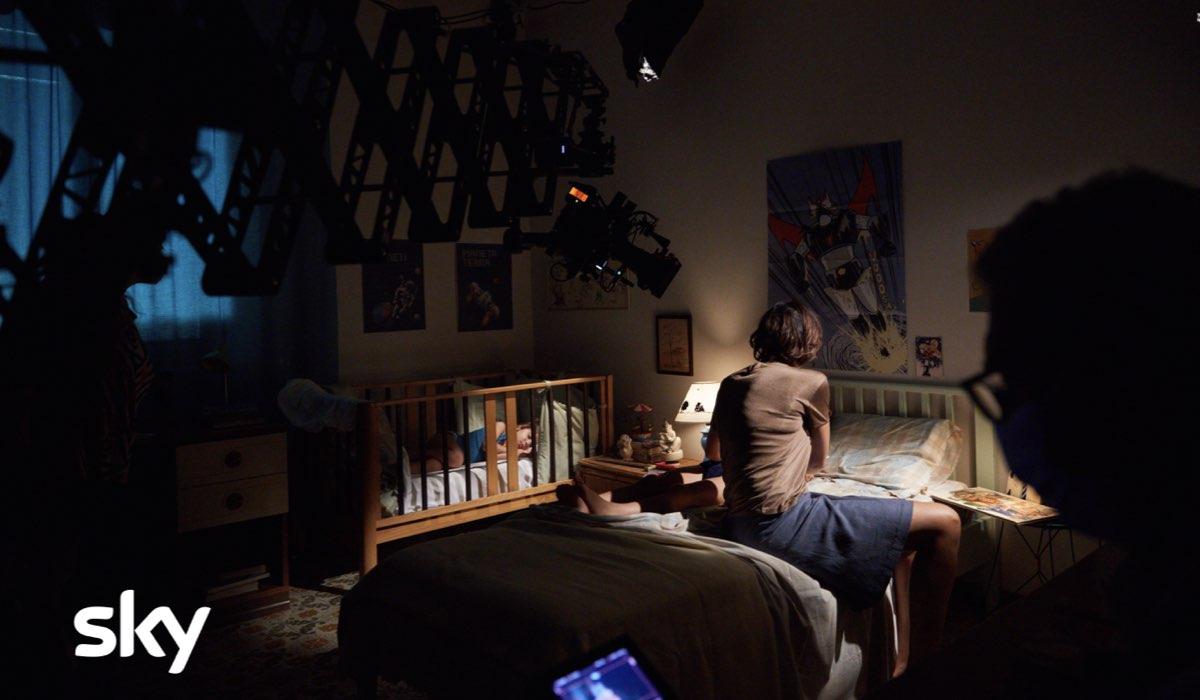Una scena di Alfredino - Una storia italiana Credits Lucia Iuorio e SKY