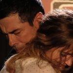 Alessandro Gassman e Zoe Tavarelli in Io ti cercherò quarta puntata, Credits RAI