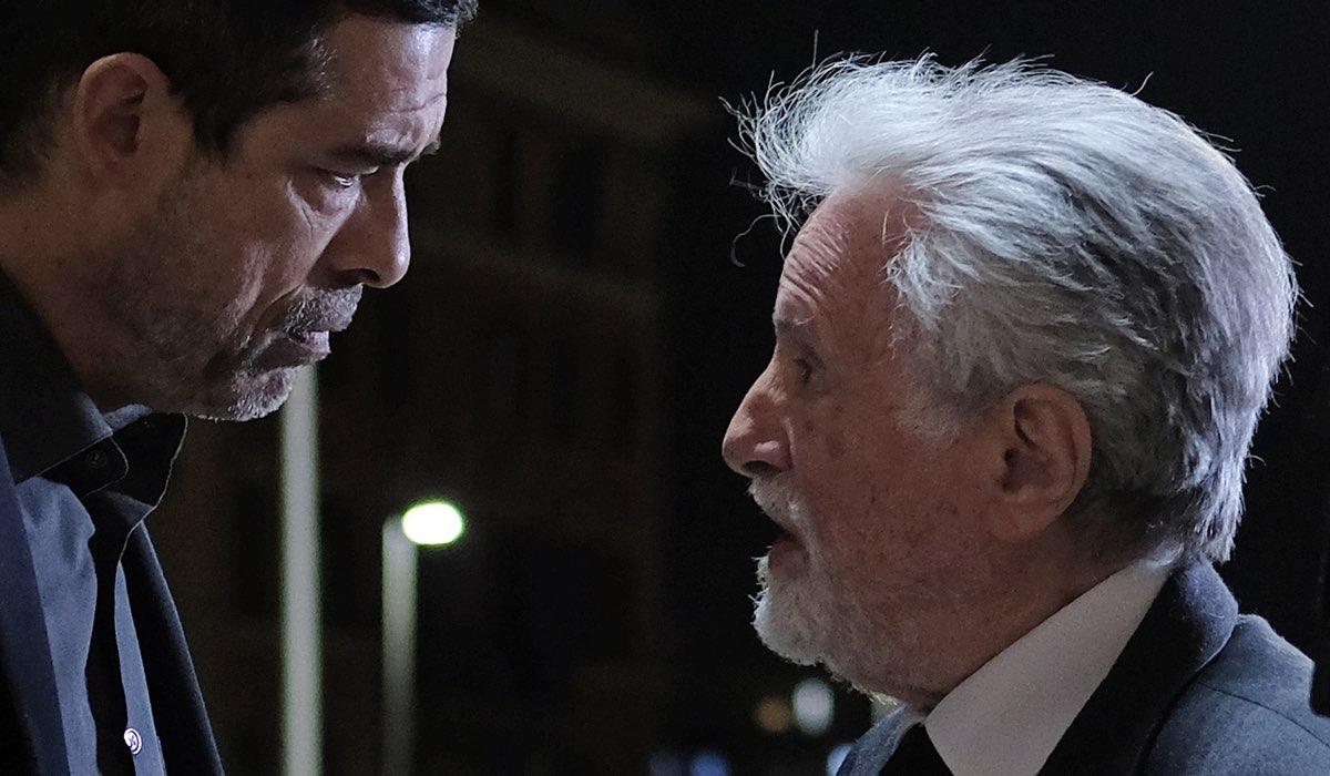 Alessandro Gassmann e Massimo De Francovich in Io ti cercherò Credits RAI