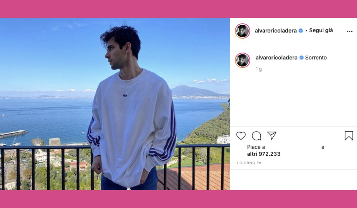 Alvaro Rico in Italia credits Instagram via @alvaroricoladera