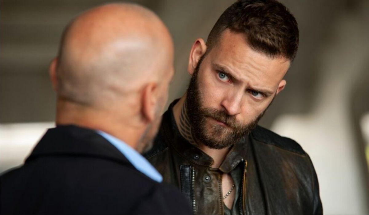 Filippo Nigro e Alessandro Borghi in Suburra 2 stagione, Credits Emanuela Scarpa e Netflix