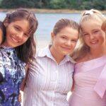 Hannah Wang, Caitlin Stasey, Basia A'Hern, Ashleigh Chisholm ed Eliza Taylor Sleepover Club credits Nine Network