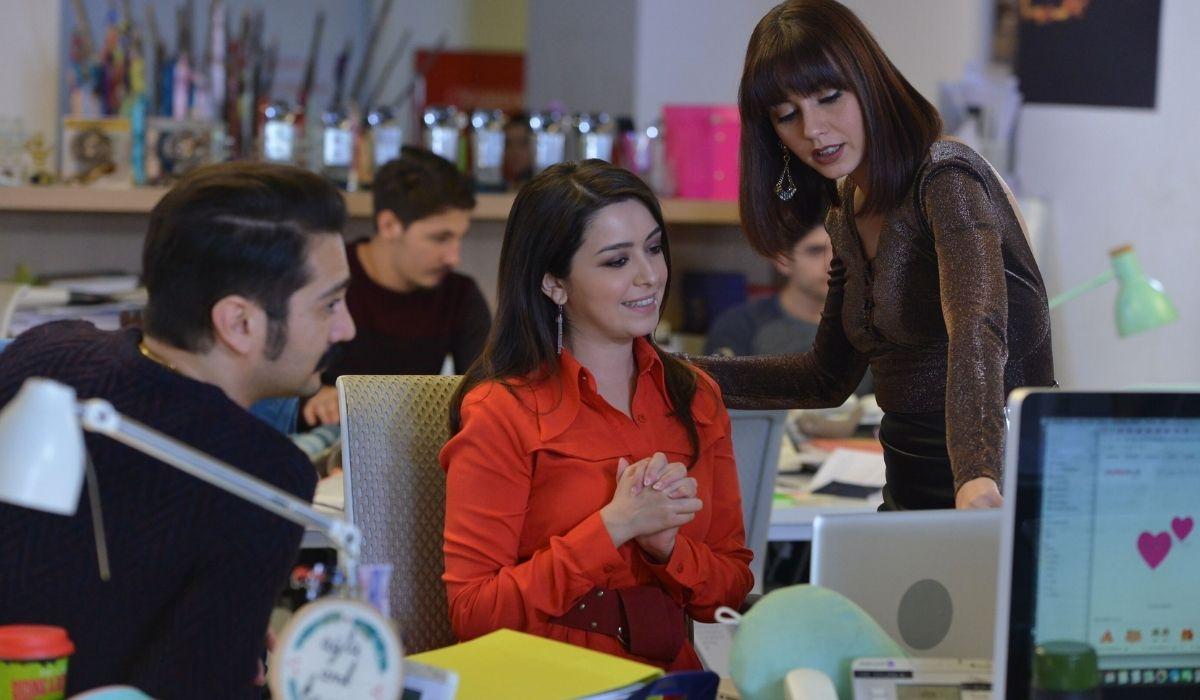 I colleghi di Sanem in Daydreamer- Le ali del sogno Credits Mediaset