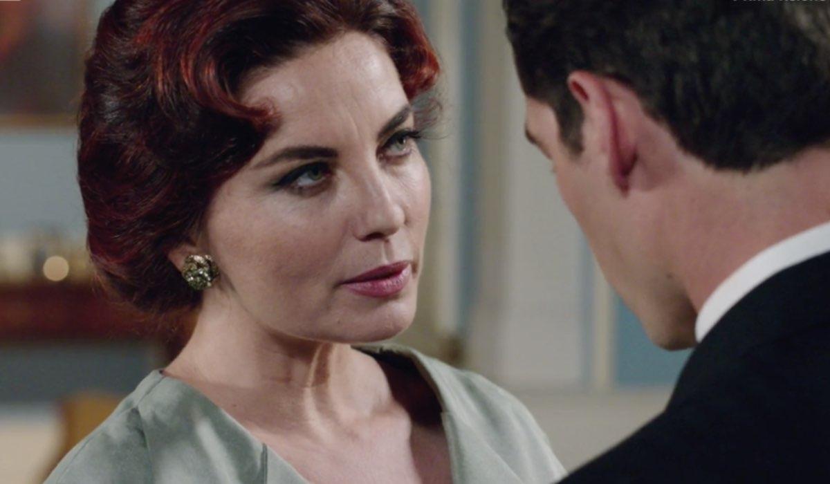 Il Paradiso delle Signore 4 Adelaide e Riccardo in Villa interpretati da Vanessa Gravina e Enrico Oetiker nella puntata 160 Credits RAI
