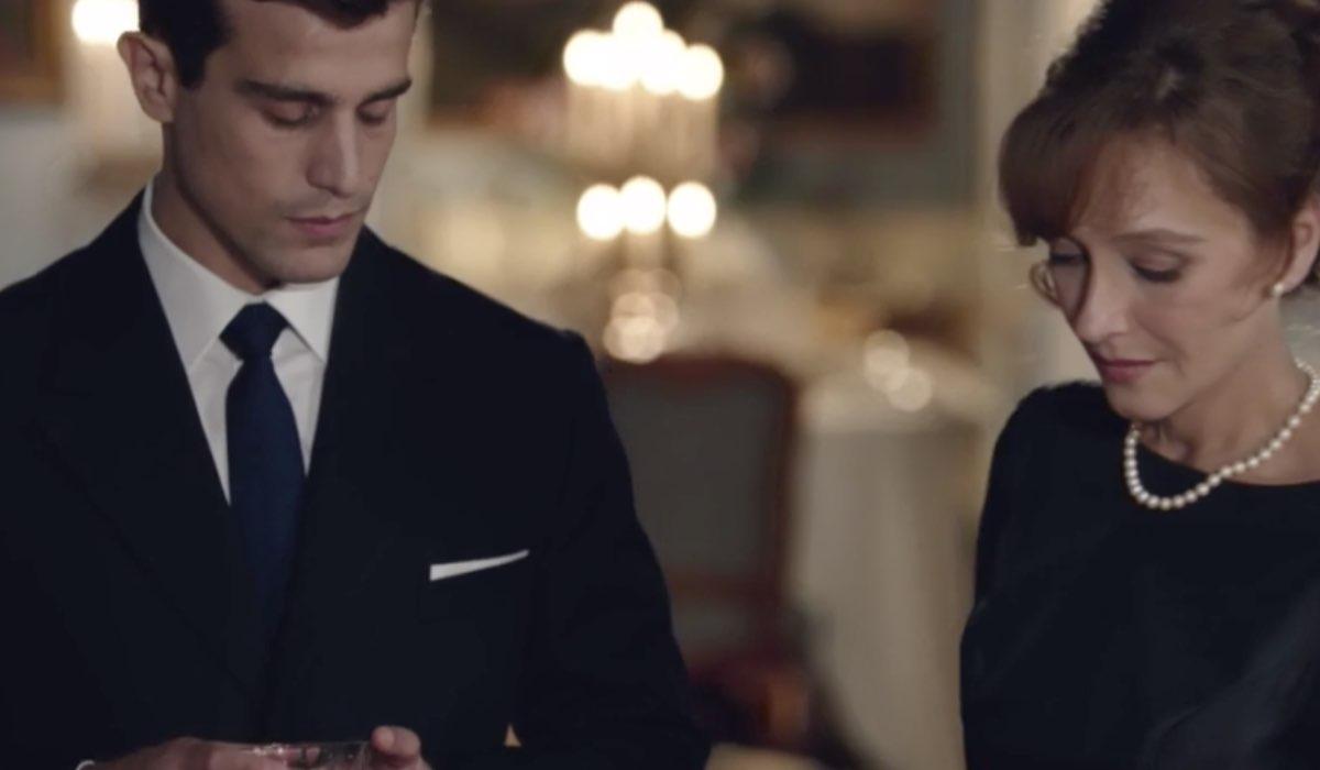 Il Paradiso delle Signore 4 Federico e Silvia interpretati da Alessandro Fella e Marta Richeldi nella puntata 160 a Villa Guarnieri Credits RAI