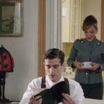 Il Paradiso delle Signore 4 Silvia e Federico Cattaneo interpretati da Marta Richeldi e Alessandro Fella, qui nella puntata 160 Credits RAI