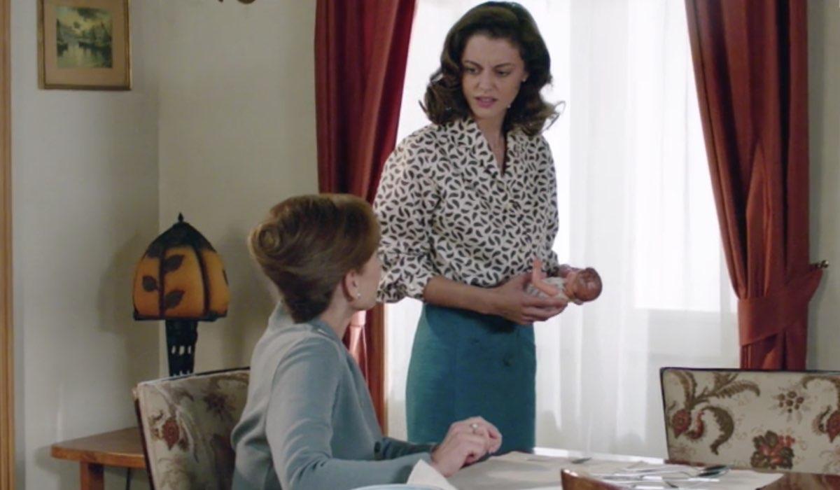 Il Paradiso delle Signore 4 Silvia e Nicoletta interpretati da Marta Richeldi e Federica Girardello nella puntata 160 Credits RAI