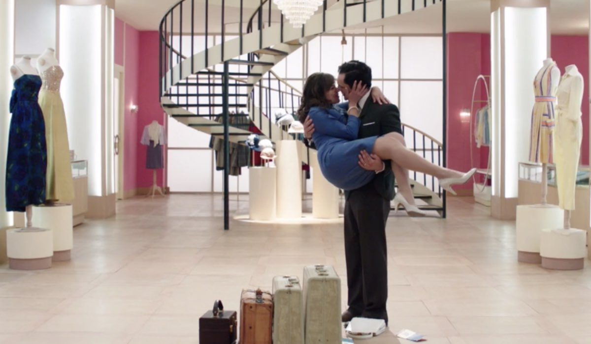 Il Paradiso delle Signore 4 Vittorio e Marta interpretati da Alessandro Tersigni e Gloria Radulescu nella puntata 160 Credits RAI