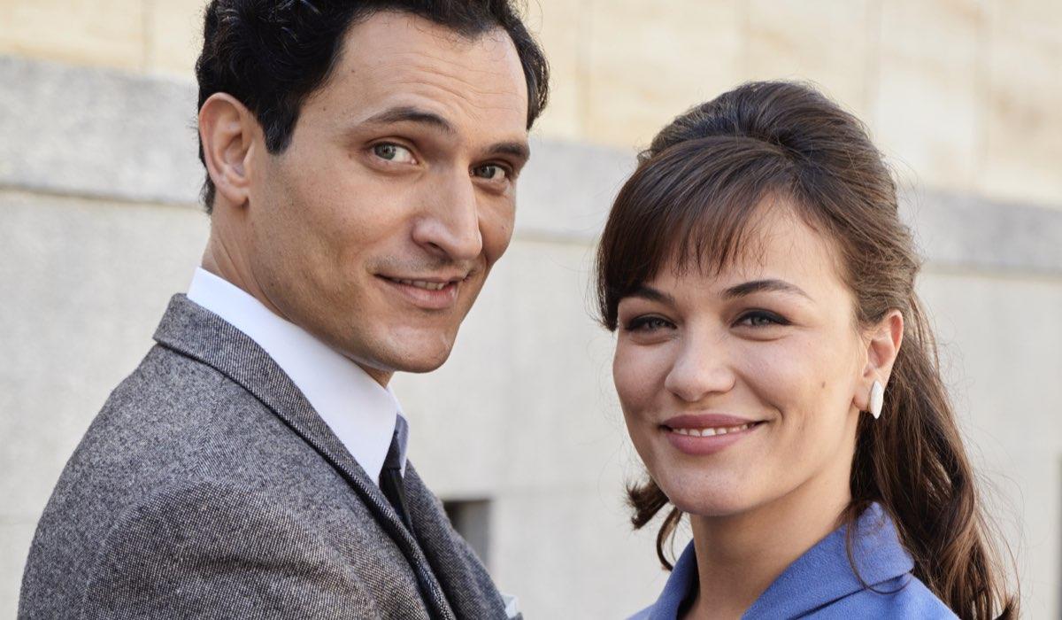 Il Paradiso delle Signore 4 e Daily 2 Vittorio e Marta Conti, interpretati da Alessandro Tersigni e Gloria Radulescu Credits RAI