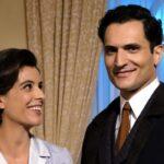 Il Paradiso delle Signore 5 Beatrice Conti e Vittorio Conti interpretati rispettivamente da Caterina Bertone e Alessandro Tersigni Credits RAI