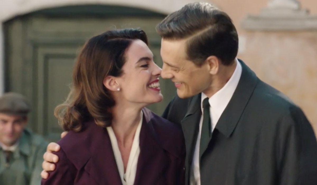 Il Paradiso delle Signore 5 Clelia e Luciano interpretati da Enrica Pintore e Giorgio Lupano, qui nella puntata 3 Credits RAI