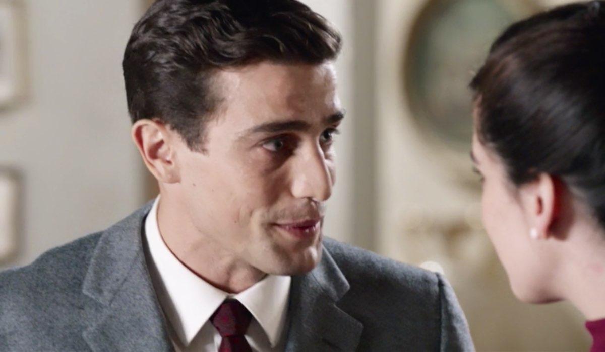 Il Paradiso delle Signore 5 Federico Cattaneo e Stefania Colombo interpretati da Alessandro Fella e Grace Ambrose qui nella puntata 7 Credits RAI
