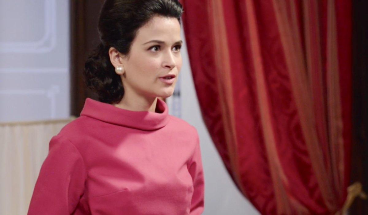 Il Paradiso delle Signore 5 Gabriella Rossi interpretata da Ilaria Rossi qui in Caffetteria Credits RAI