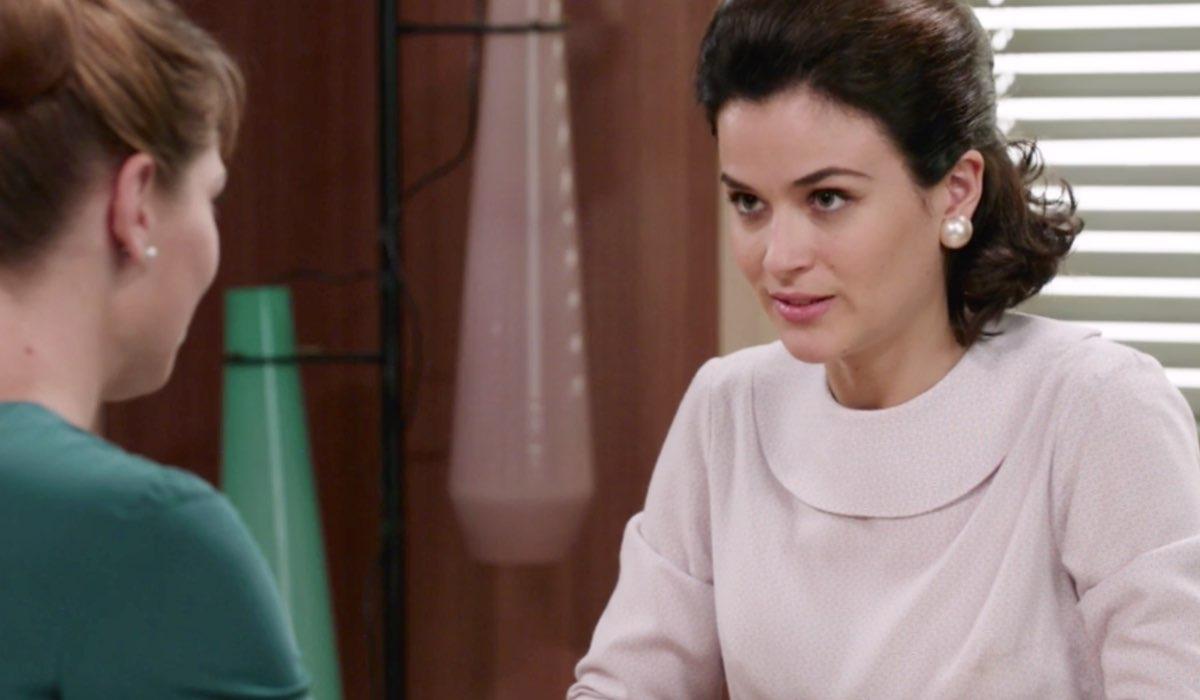 Il Paradiso delle Signore 5 Gabriella Rossi interpretata da Ilaria Rossi, qui in una scena della puntata 14 Credits RAI