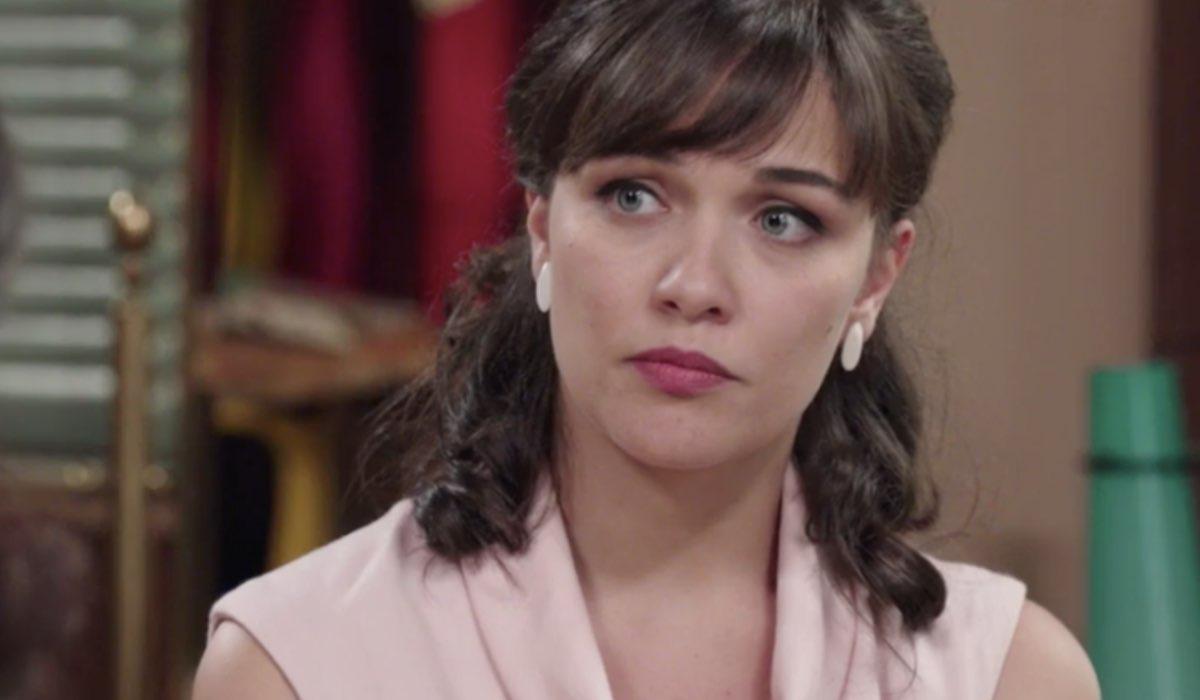 Il Paradiso delle Signore 5 Marta Guarnieri interpretata da Gloria Radulescu, qui nella puntata 8 Credits P. Bruni e RAI