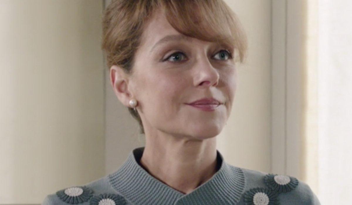 Il Paradiso delle Signore 5 Silvia Cattaneo interpretata da Marta Richeldi, qui all'inizio della puntata 2 Credits RAI