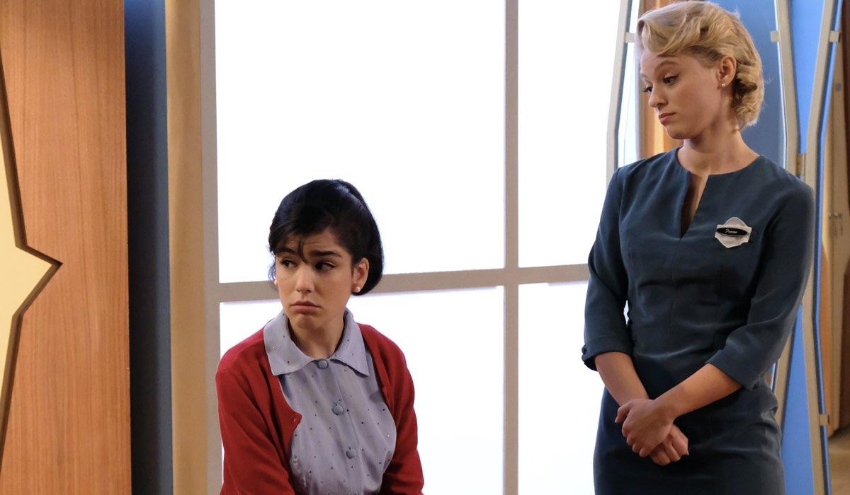 Il Paradiso delle Signore 5 Stefania Colombo e Irene Cipriani interpretate da Grace Ambrose e Francesca Del Fa Credits RAI