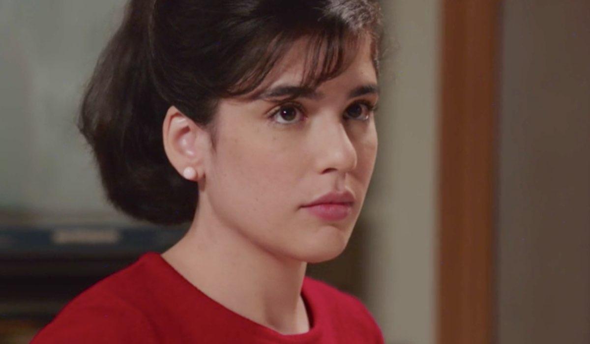 Il Paradiso delle Signore 5 Stefania Colombo interpretata da Grace Ambrose, qui nella puntata 8 Credits RAI